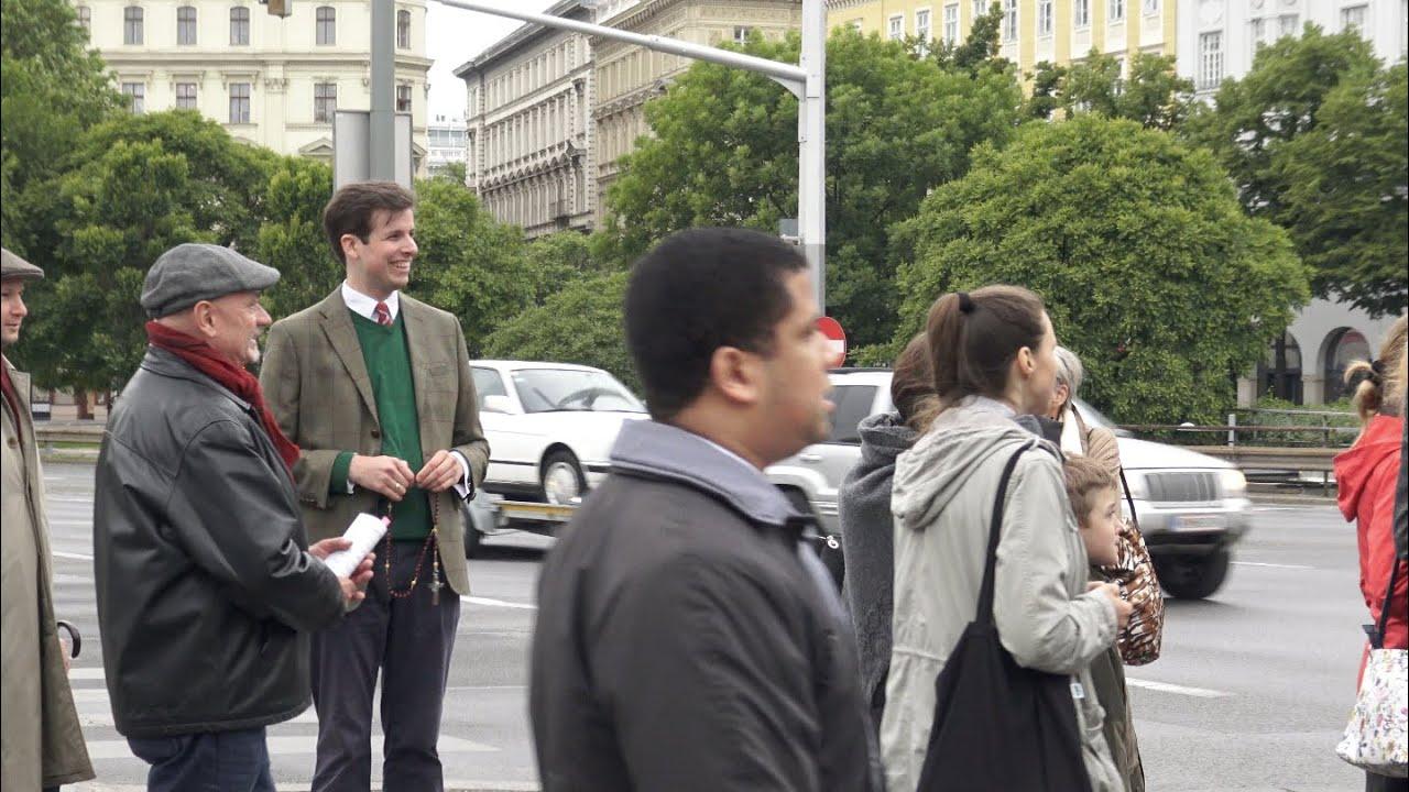 Rosenkranz für Österreich! Fatimatag in Wien