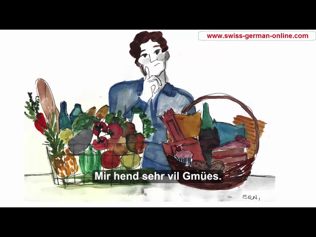 Learning Conversational Swiss German. Verb
