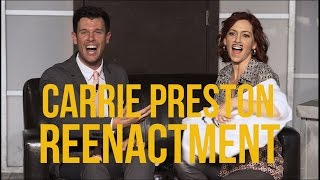 Reenactment with Carrie Preston (CBS' The Good Wife & HBO's True Blood) - Episode 20