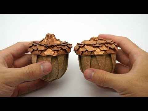 Advanced top of origami Acorn (Beth Johnson)
