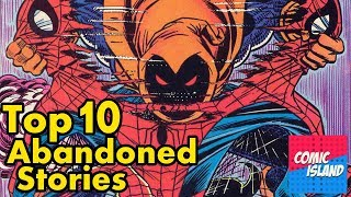 Top 10 Abandoned Storylines: The Biggest Lost Stories in Comics