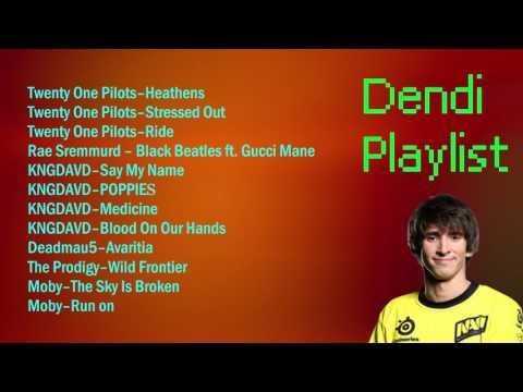 Dendi Stream Playlist 1 / 2017