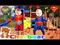 NEW SONG I Wish I Could Be a Superhero | Songs For Kids Baby Superheroes Singing Babies at the Park