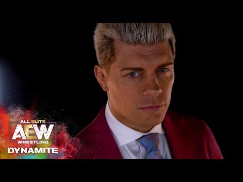 #AEW DYNAMITE EPISODE 3: A STUNNING LOOK AT CODY VS CHRIS JERICHO | NOV  9 At FULL GEAR