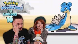 THE PRE-SWSH MASSACRE! | Pokemon SoulSilver Randomizer Typelocke LIVE Part 10