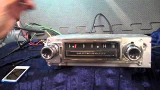 1964-66 Chevy C10 Pickup Truck original am radio