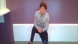 louis tomlinson homade card board cut out