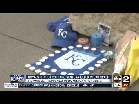 Kansas City Royals pitcher Yordano Ventura killed in a car crash