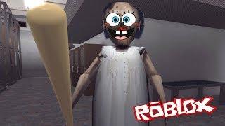I TURNED GRANDMA GRANNY! | SpongeBob in Roblox