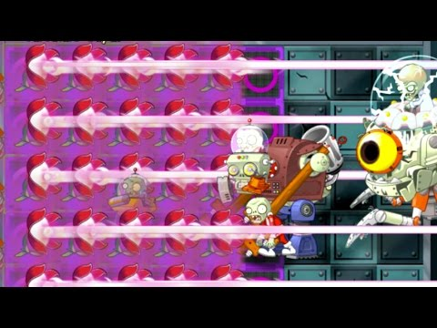 Plants vs Zombies 2 Epic Hack : The Red Stinger vs Each Freakin' Zombots