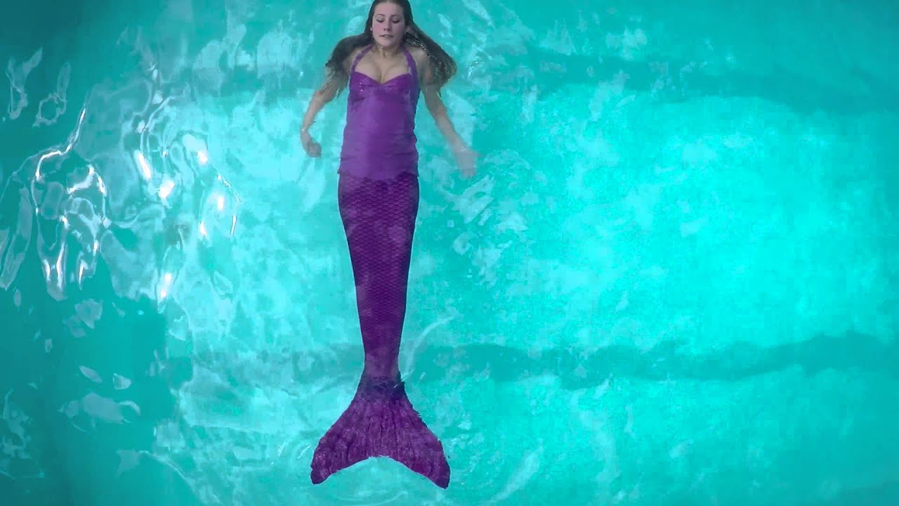 Weightless Swimmable Mermaid Tail and Monofin  76f3a1616445