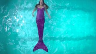 Weightless Swimmable Mermaid Tail and Monofin | Fin Fun Mermaid Tails