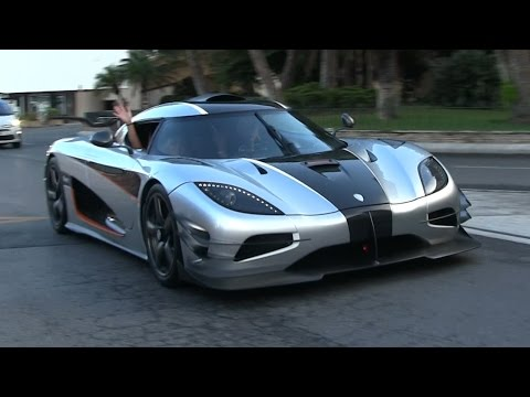 CHICK DRIVING THE MIGHTY KOENIGSEGG ONE:1 IN MONACO