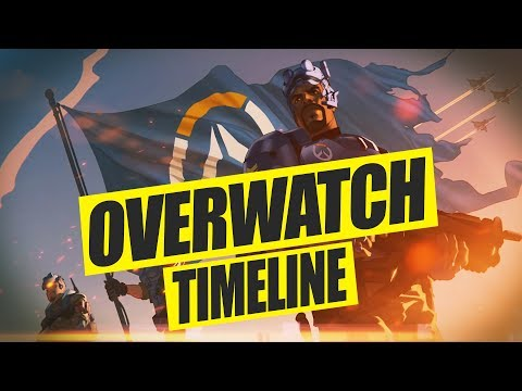 Overwatch Story Timeline (OVERWATCH Background Story Deutsch)
