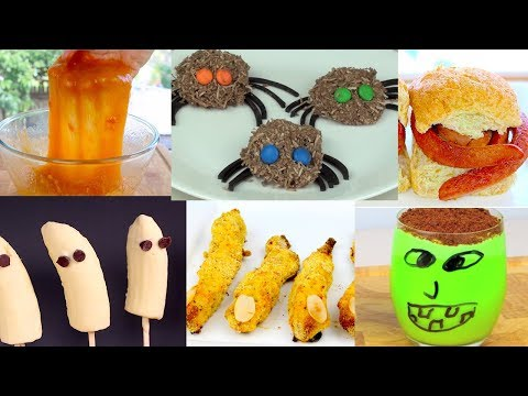 6 Last Minute Easy Halloween Recipes DIY For Kids
