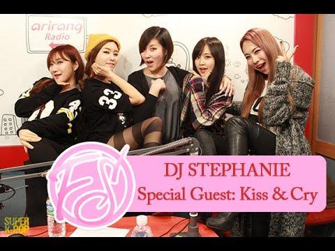 140218 DJ Stephanie & Kiss & Cry
