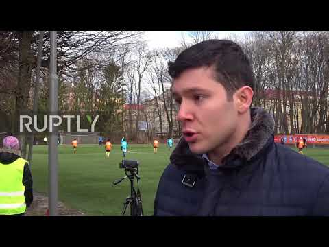 Russia: 600 footballers participate in 24hr football match in Kaliningrad