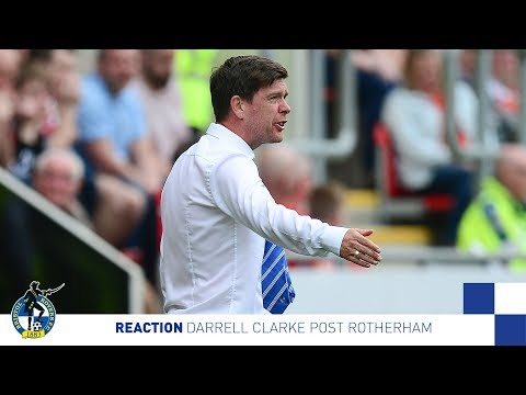 Reaction: Darrell Clarke on Rotherham United