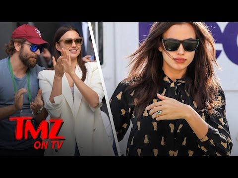 Irina Shayk Flaunting an Engagement-ish Ring | TMZ TV