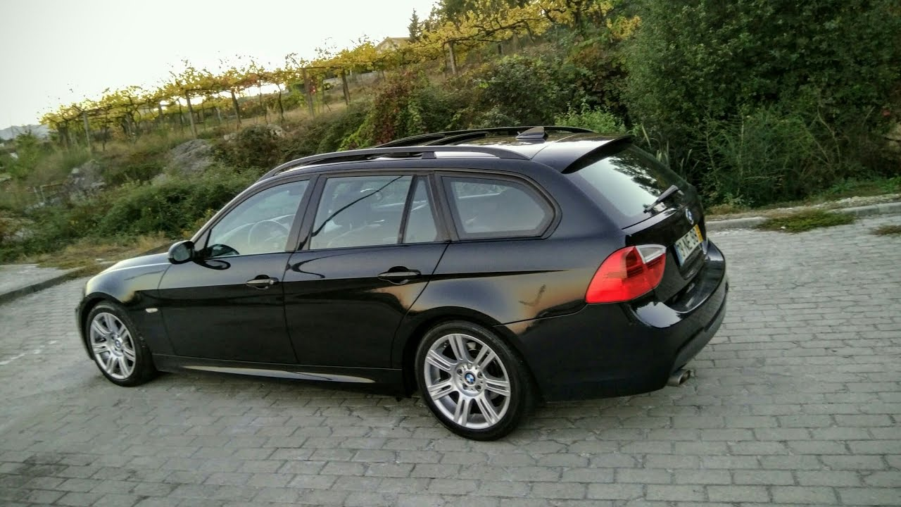 bmw 320d touring pack m 2008 177cv details youtube. Black Bedroom Furniture Sets. Home Design Ideas