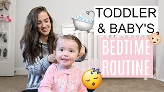 NIGHT TIME ROUTINE OF A MOM 2019 // BEDTIME ROUTINE // INFANT AND TODDLER // Simply Allie