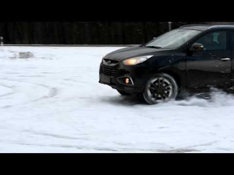 Hyundai ix35 on SNOW Zapada part I