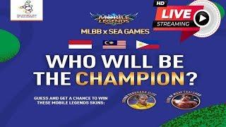 🔴 [ LIVE ] MLBB INDONESIA VS PHILIPPINES SEA GAMES LIVE COVERAGE GOLD MEDAL MATCH #GarudaDiDadaKu