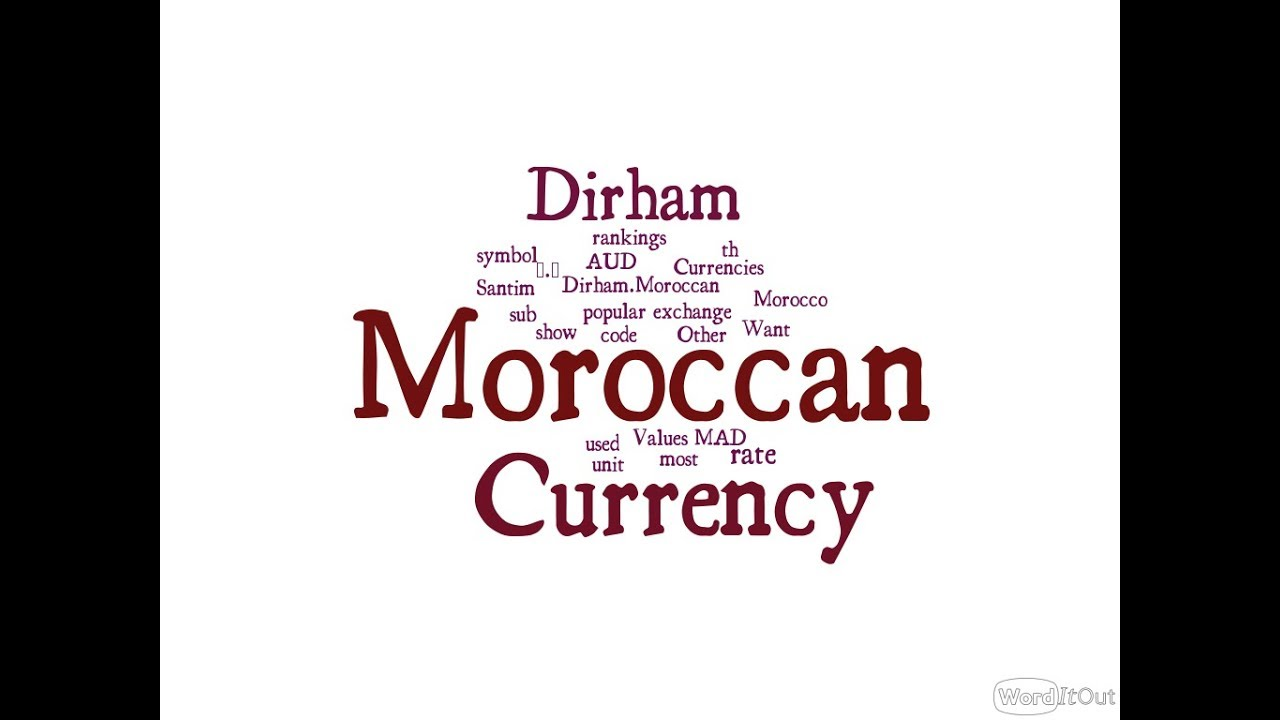 Moroccan Currency Dirham Youtube