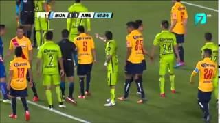Monarcas vs America 2-2 Jornada 5 Clausura 2015 6/2/15