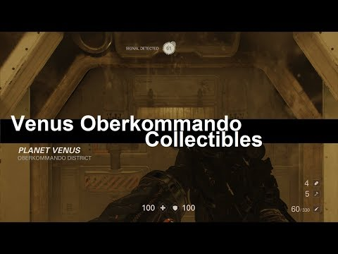 Wolfenstein 2 Collectibles – Oberkommando District