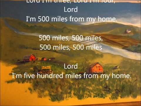 Peter, Paul & Mary ~  500 Miles Lyrics
