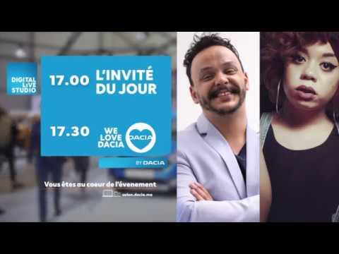 Revivez avec nous le Dacia Live Show du jour avec Khaoula Moujahid au Digital Live Studio