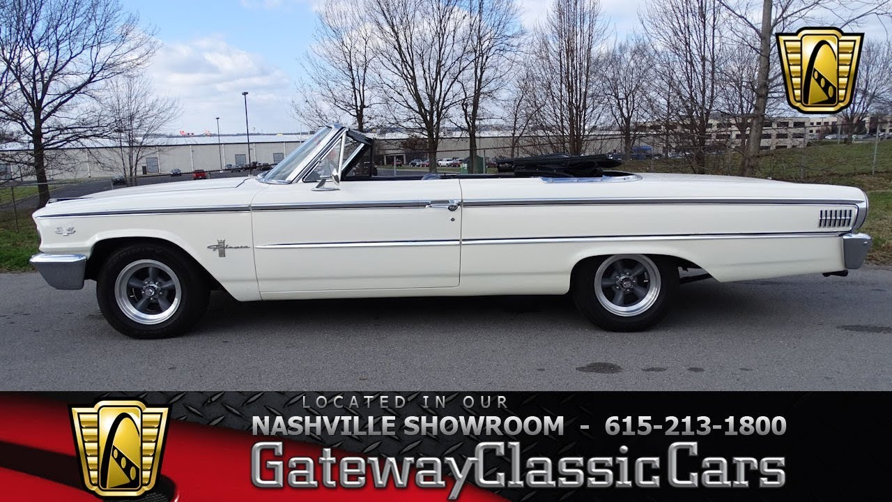 1963 ford galaxie 500 convertible gateway classic cars nashville 691nsh youtube. Black Bedroom Furniture Sets. Home Design Ideas