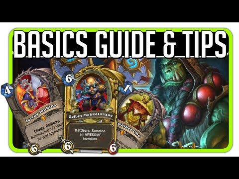 Hearthstone: Basics/Beginner's GUIDE & Tips (Abilities, Card Orders)
