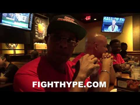 """TRAINER CUNNINGHAM EXPLAINS DEVON ALEXANDER'S """"WORLD-CLASS"""" TRAINING DIFFERENCE; ATE BEFORE WEIGH-IN"""