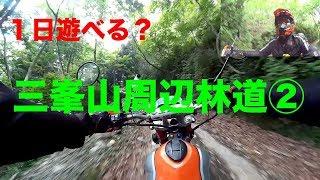 【1日遊べる三峯山周辺林道②】トリッカーと三重の林道