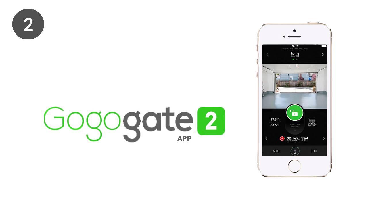open garage door with iphoneGogogate 2 Open your garage door with iPhone or Android  YouTube