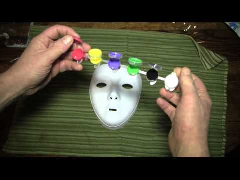 Activities (Painting a Cat Mask)