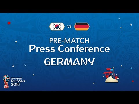 FIFA World Cup™ 2018: Korea Republic - Germany: Germany Pre-Match Press Conference