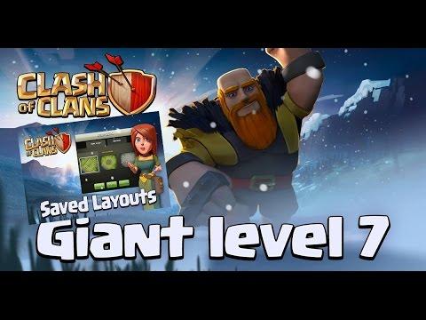 Гиганты 7 уровня! Сохранение нескольких баз! Новогоднее обновление clash of clans