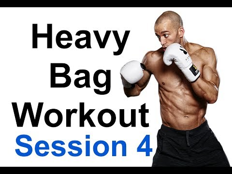 Ultimate 20 Minute HEAVY BAG WORKOUT Session 4