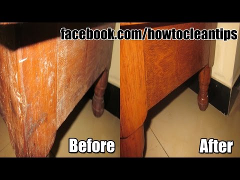 How to refinish furniture in simple 3 steps - without sanding