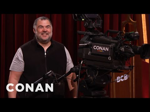 Tony The Cameraman Is Excited For #ConanNYC  - CONAN on TBS