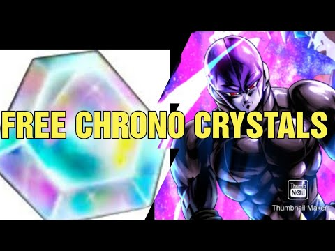 HOW TO GET FREE  CHRONO CRYSTALS 1000+ (DRAGON BALL LEGENDS)