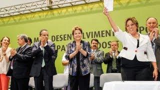 Dilma anuncia investimentos para o Rio Grande do Norte