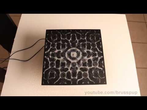 Ver el sonido: la explicación a los bellos experimentos con frecuencias (VÍDEOS)