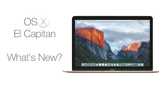 OS X El Capitan  - What