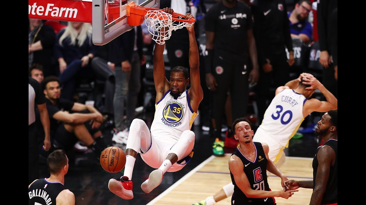 Kevin Durant's Best Dunks From 2018-2019 Season | Highlights Mix
