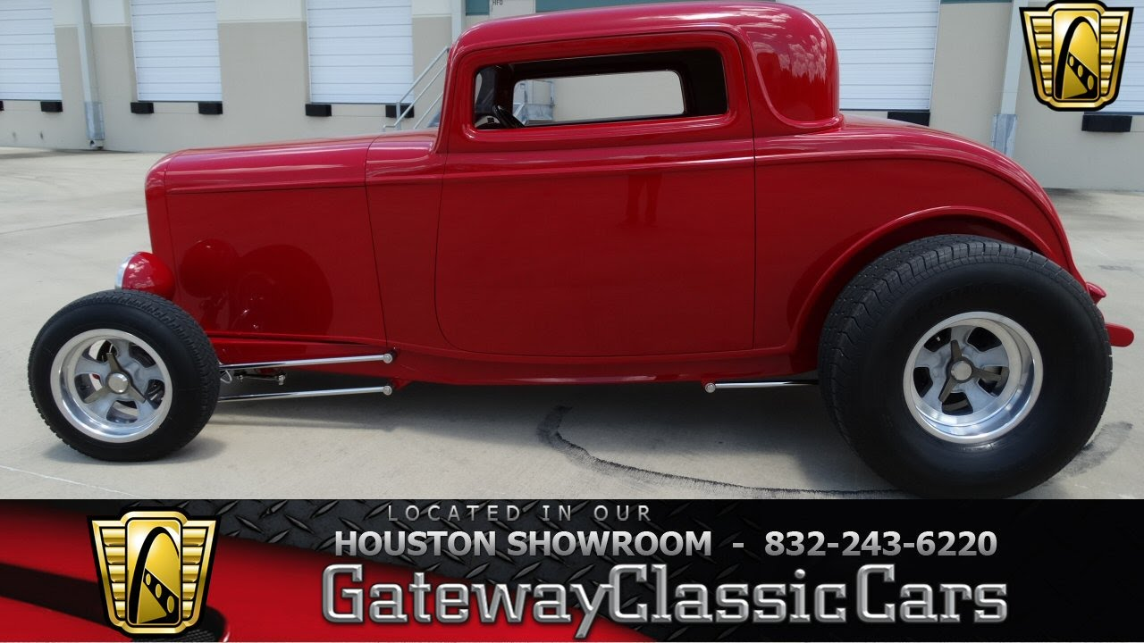1932 Ford 3 window coupe - Gateway Classic Cars of Houston -stock ...