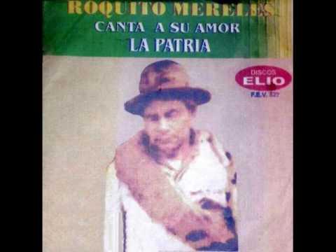 ROQUITO MERELES - CANTA SU AMOR A LA PATRIA - Discos Elio